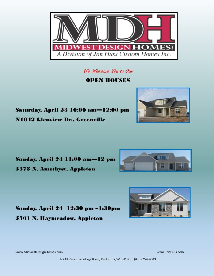 MDH OPEN HOUSES