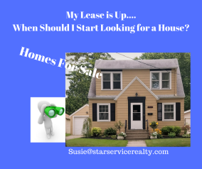 My Lease is Up....When Should I Start Looking for a House_