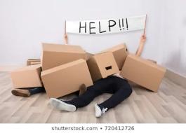 couple-lying-under-heap-cardboard-260nw-720412726